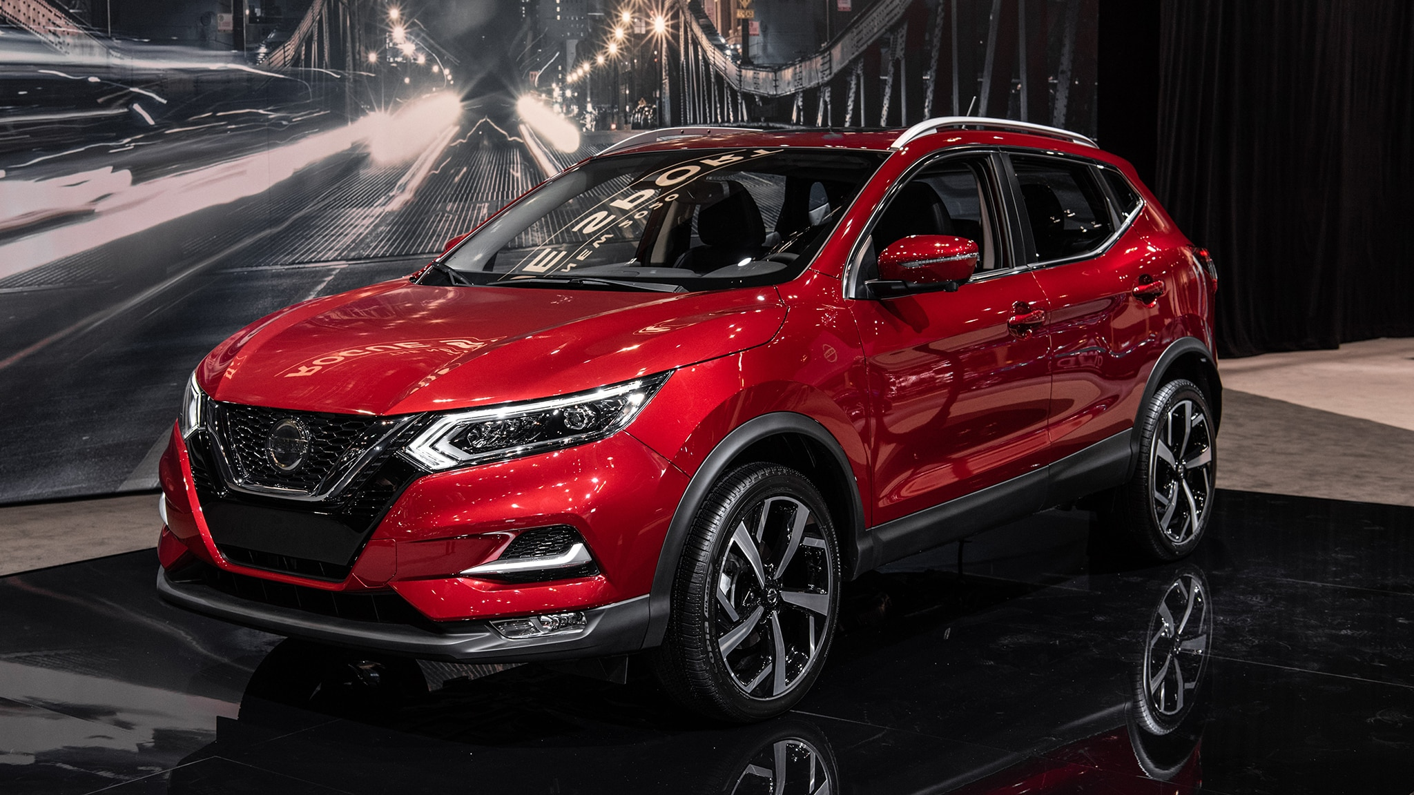 2020 Nissan Rogue Sport At Chicago Auto Show 6