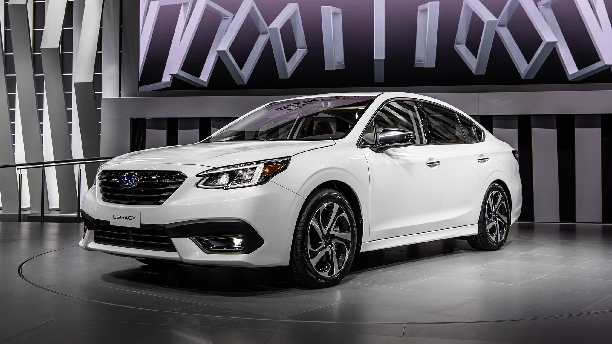 2020 Subaru Legacy At Chicago Auto Show 1
