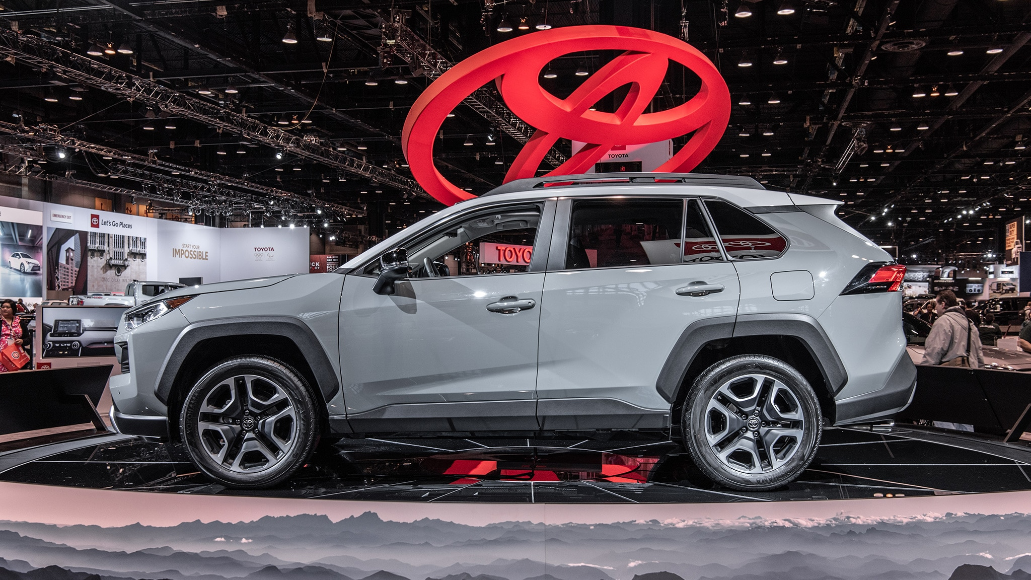 2020 Toyota RAV4 TRD At Chicago Auto Show 09