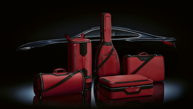 BMW 8 Series Montblanc Red Set