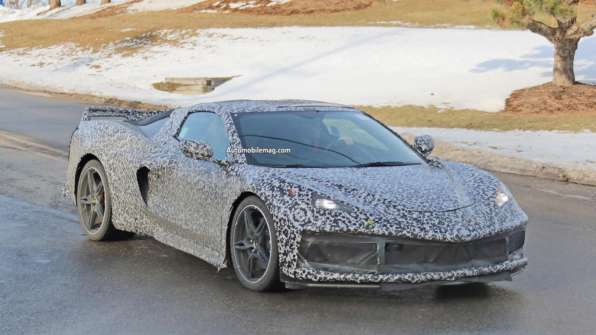 Chevrolet Corvette Spied 09