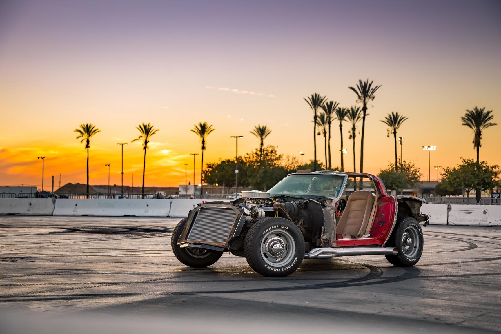 Hot Rod Garage: 1970s Street Machine Corvette