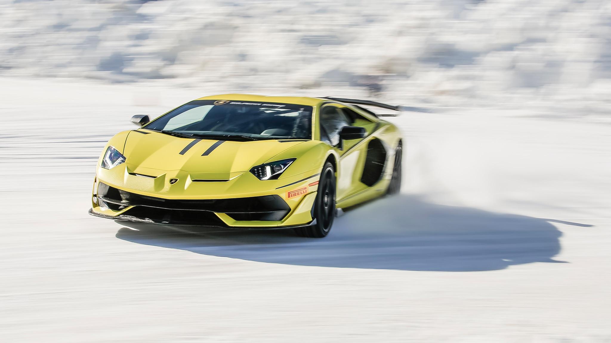 Lamborghini Winter Accademia 34