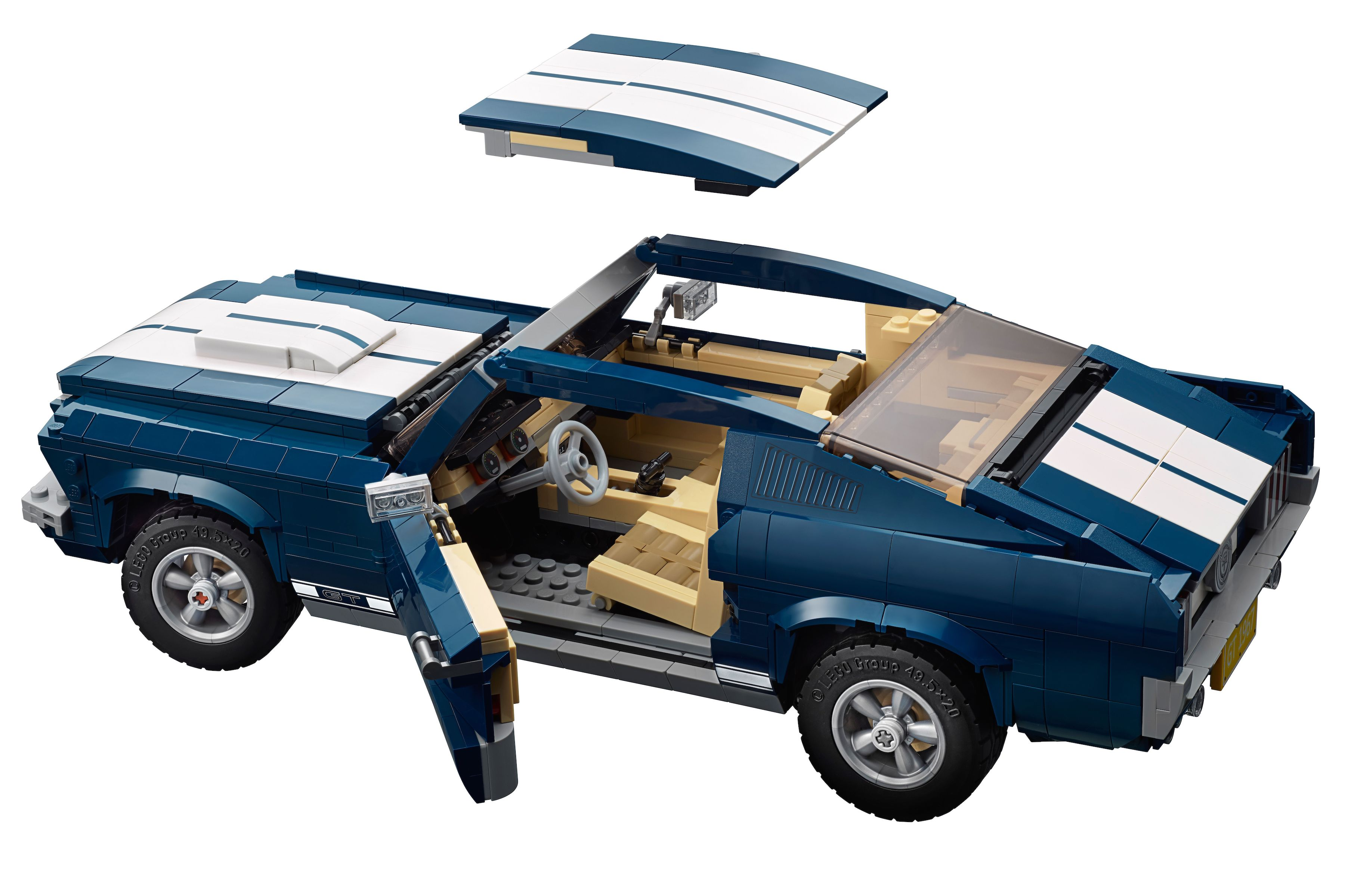 want lego s 1 471 piece 1967 ford mustang fastback kit is. Black Bedroom Furniture Sets. Home Design Ideas
