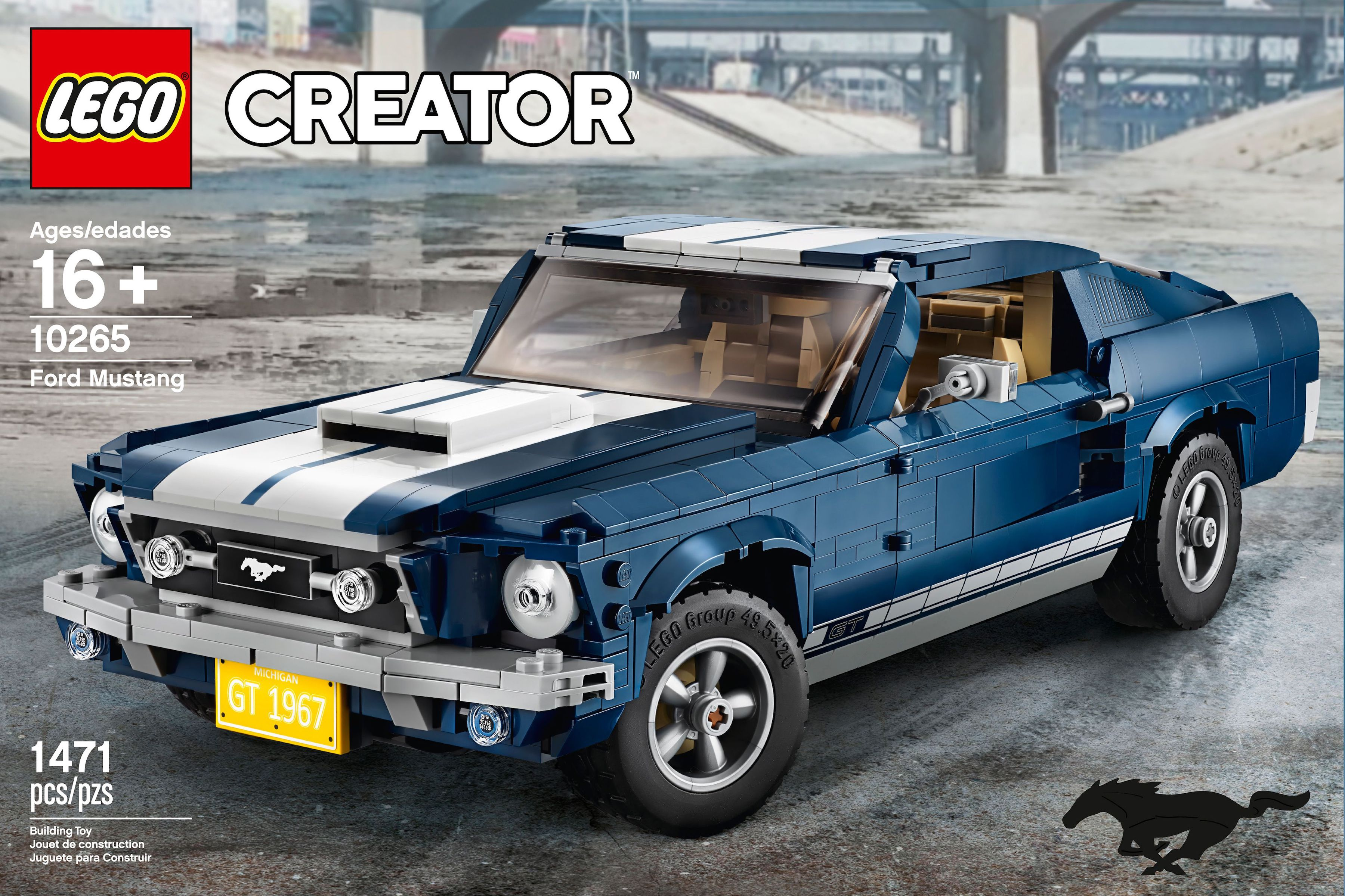 Lego Ford Mustang : want lego s 1 471 piece 1967 ford mustang fastback kit is sweet automobile magazine ~ Aude.kayakingforconservation.com Haus und Dekorationen