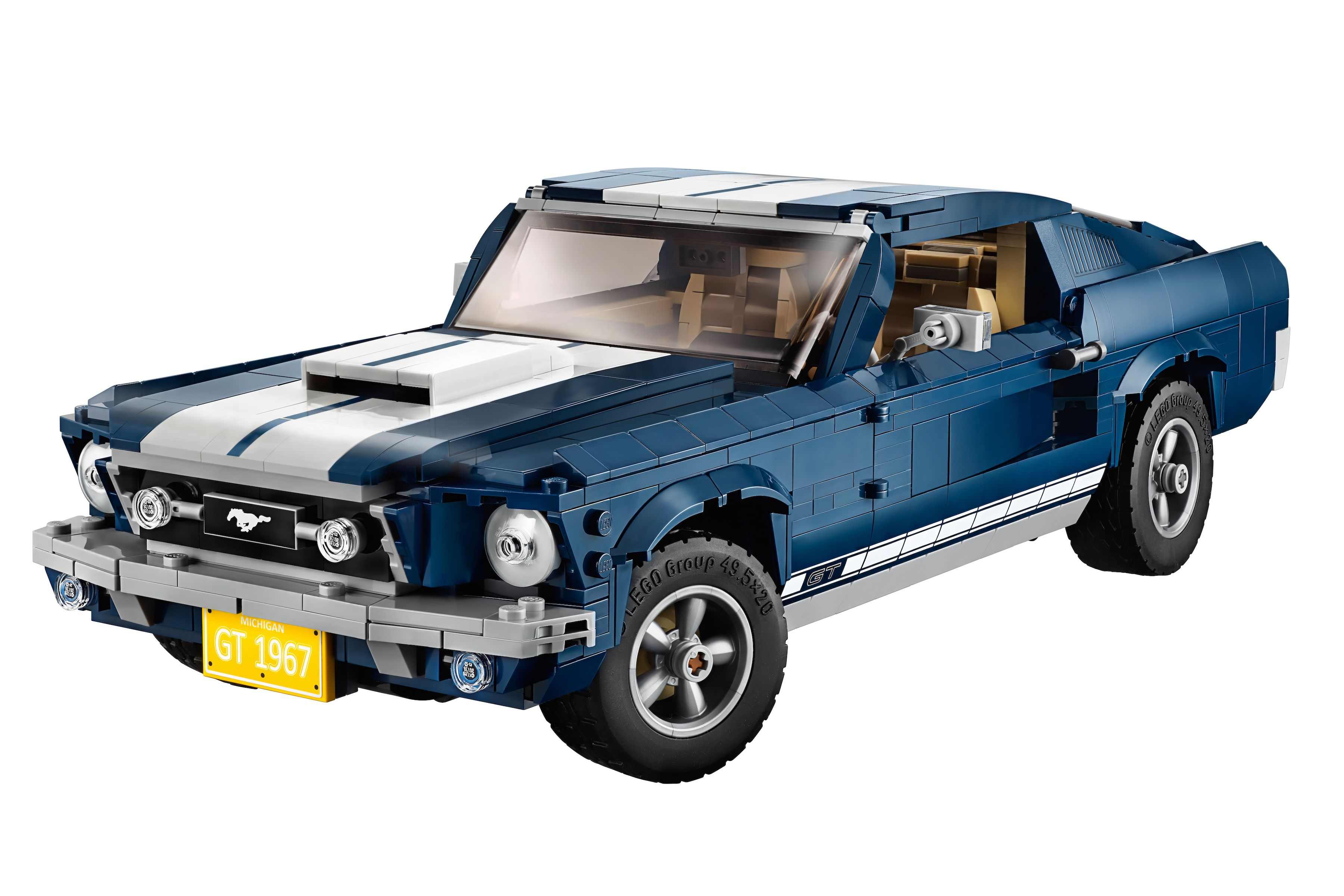 Lego's 1967 Ford Mustang kit challenges builders with 1,500 pieces