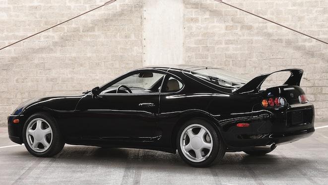 1994 Toyota Supra Twin Turbo Targa_rear Three Quarter