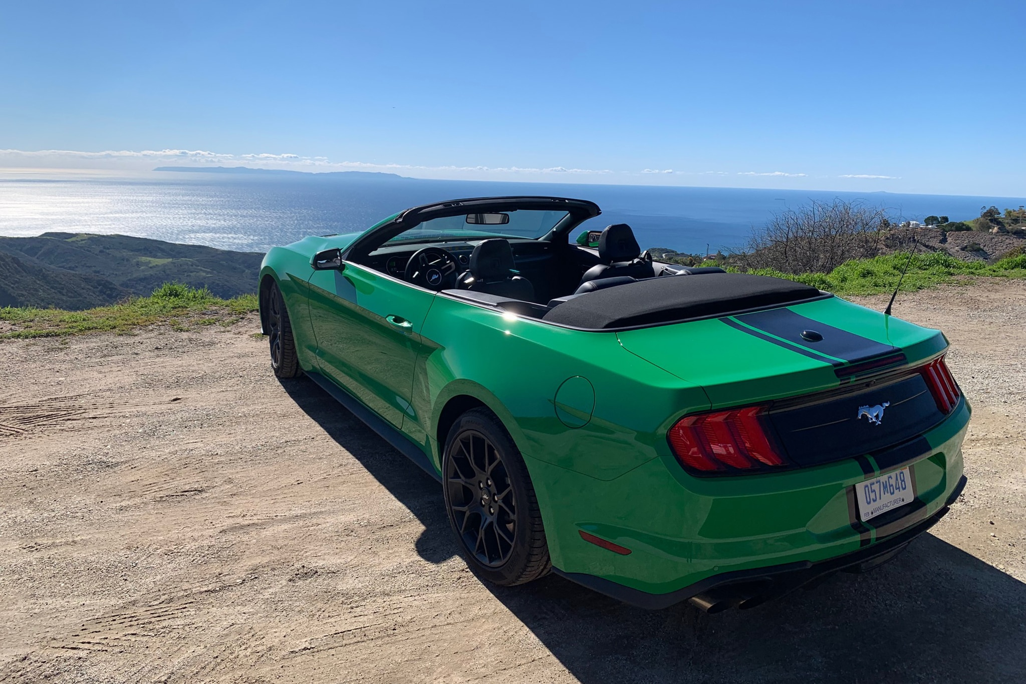 2019 Ford Mustang EcoBoost Convertible Review: Strange