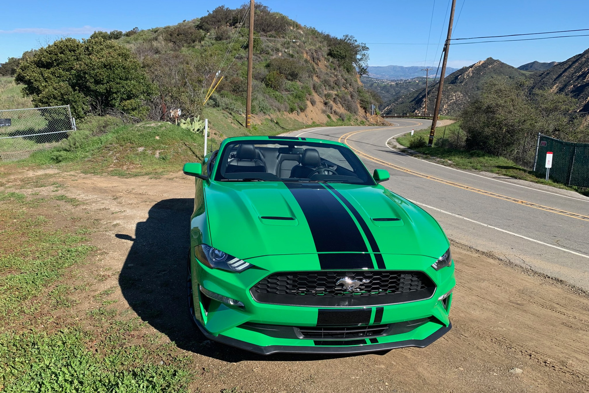 2019 ford mustang ecoboost convertible review strange indeed