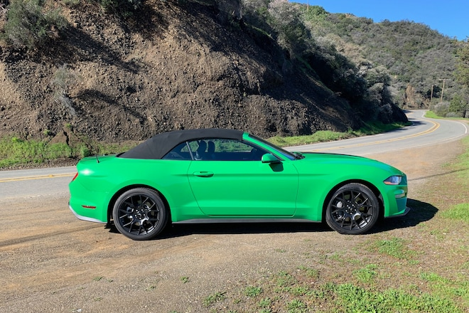 2019 Ford Mustang EcoBoost Convertible Review: Strange, Indeed