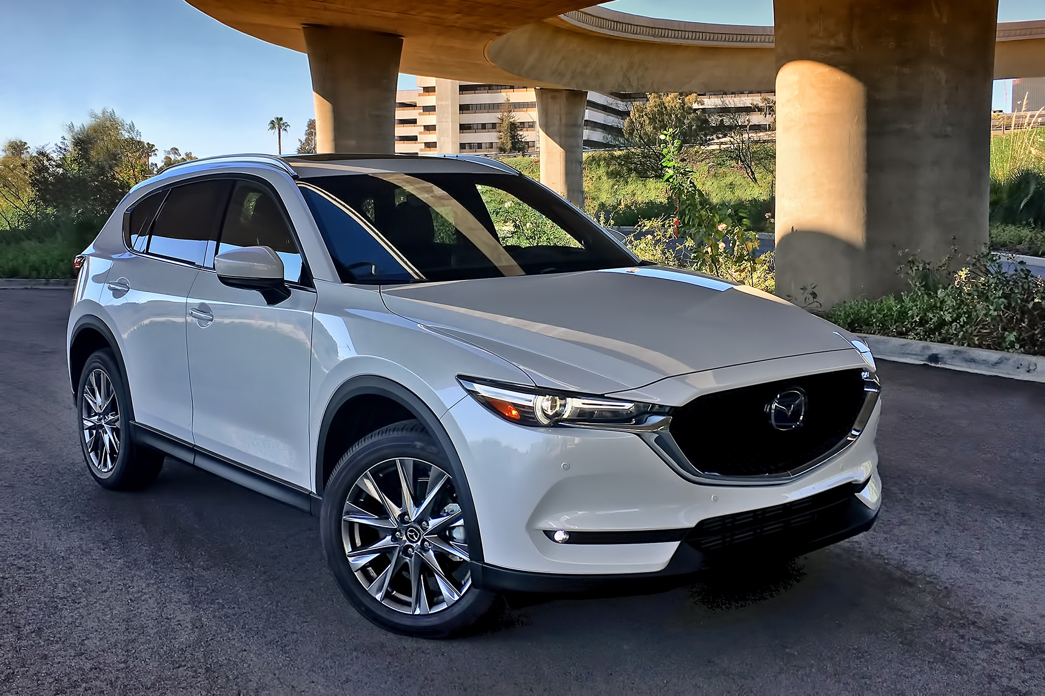 2019 mazda cx 5 turbo awd review even better under. Black Bedroom Furniture Sets. Home Design Ideas
