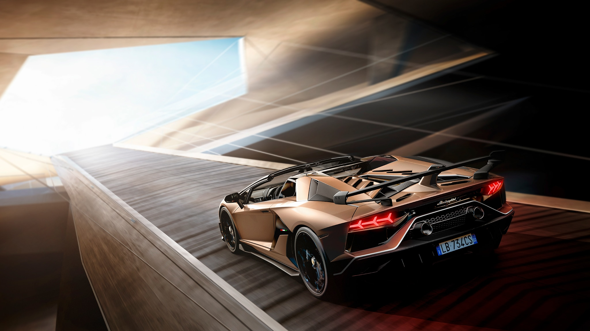 The Lamborghini Aventador Svj Roadster Takes The Roof Off 759 Hp