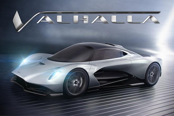 Aston Martin Valhalla Illustration