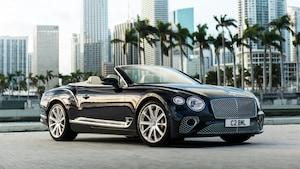 Bentley Continental GT Convertible V8 2