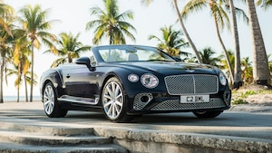 Bentley Continental GT Convertible V8 3