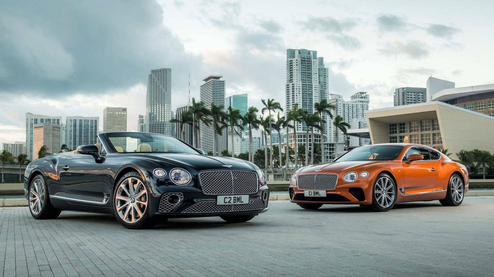 Bentley Continental GT GT Convertible V8_Hero 1