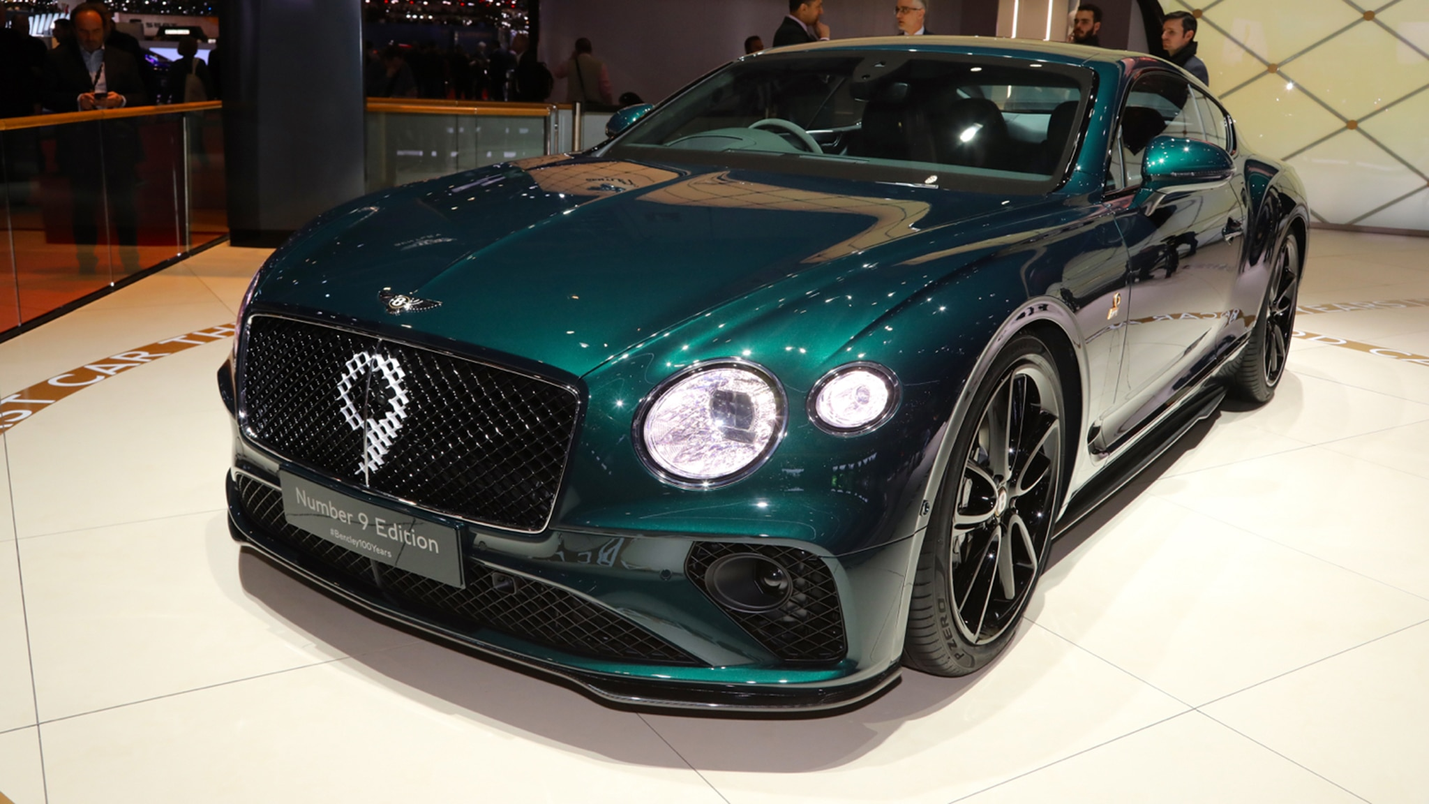 Bentley Continental GT Number 9 Edition Celebrates the Brand's Centenary