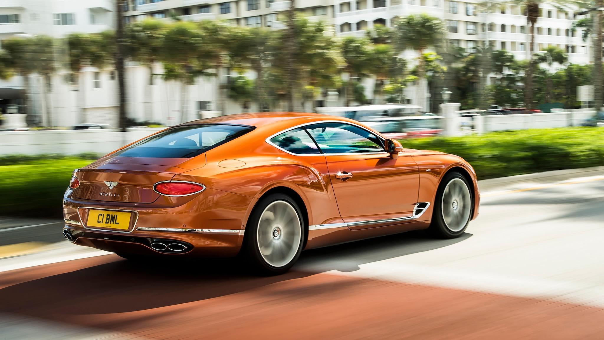 Bentley Continental GT V8 9 1