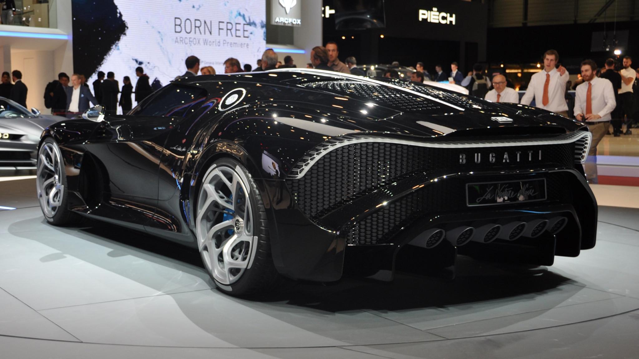 Bugatti La Voiture Noire: The Bugatti La Voiture Noire Is A $12.5 Million Tribute To