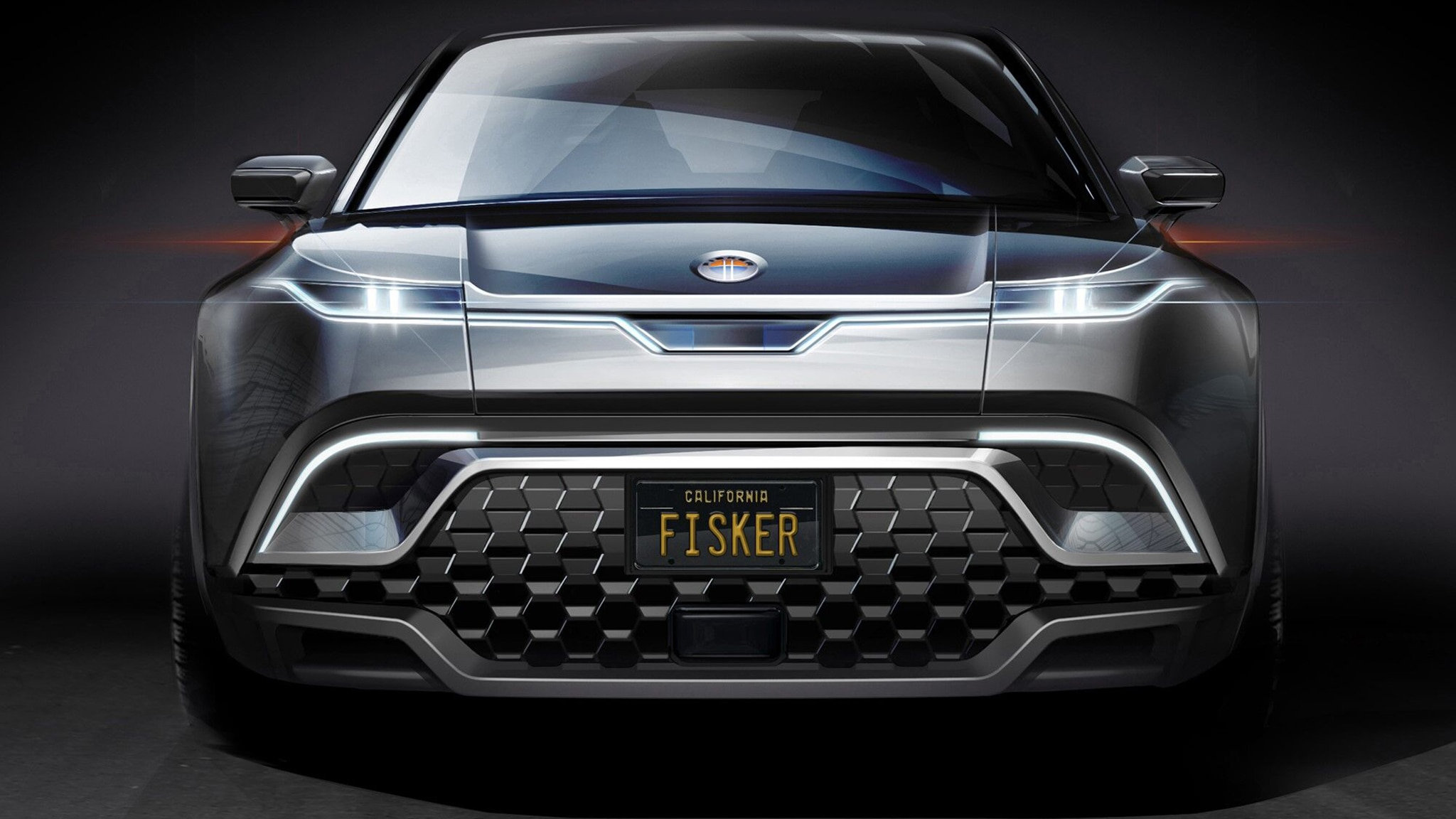 Fisker previews electric SUV to rival the Tesla Model Y