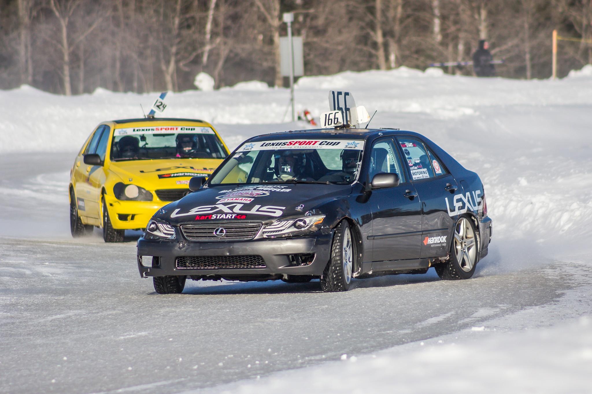 Lexus Ice Racing 22