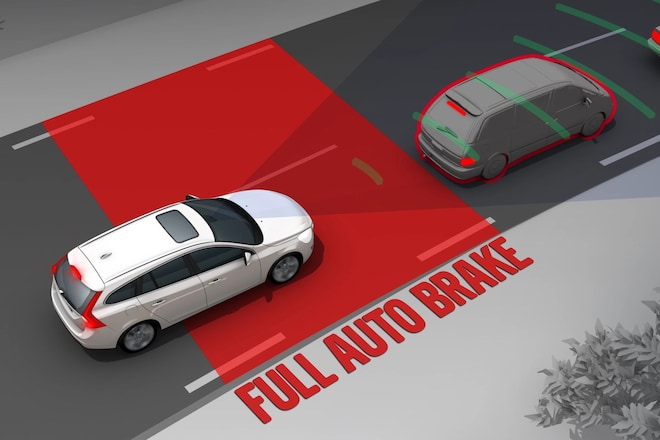Volvo Automotic Emergency Braking