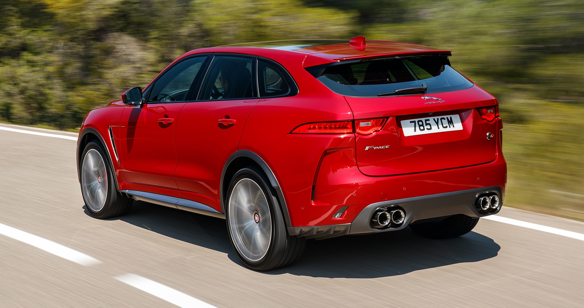 2019 Jaguar F-Pace SVR First Drive: Have Your 550-HP Cake ...