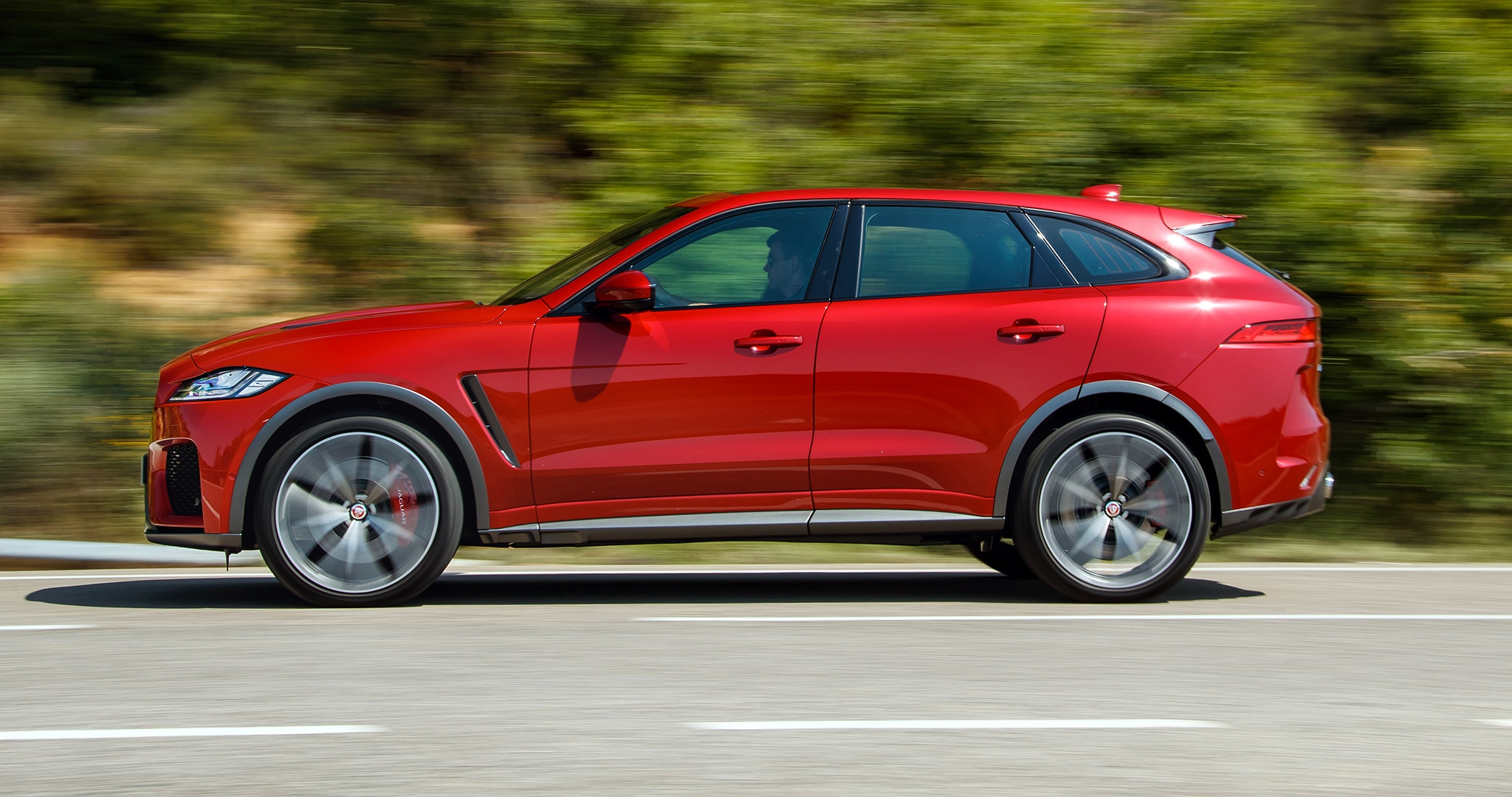 2019 Jaguar F Pace Svr First Drive Have Your 550 Hp Cake