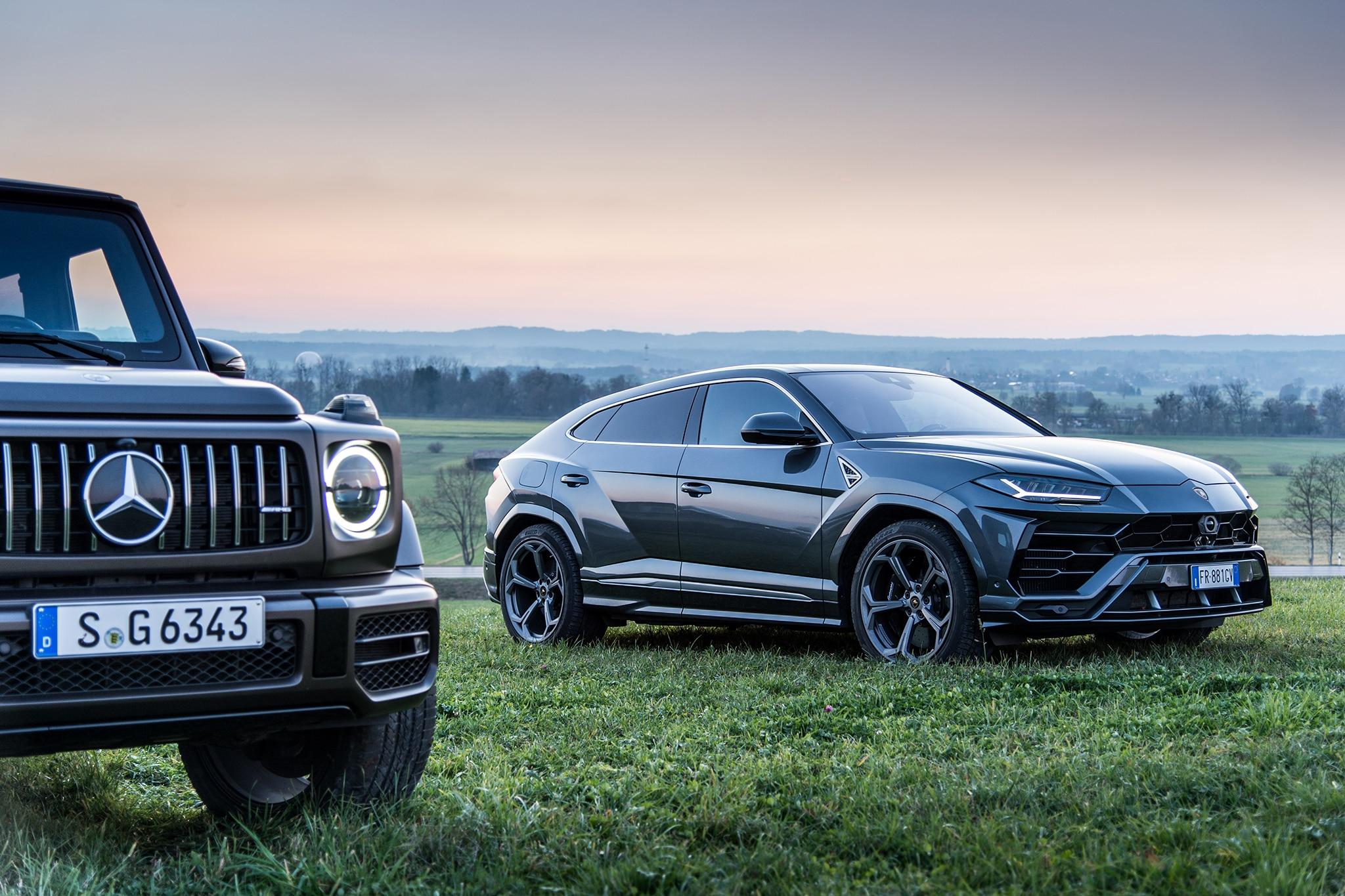 Big-Buck SUVs: Lamborghini Urus vs  G63 AMG and Range Rover
