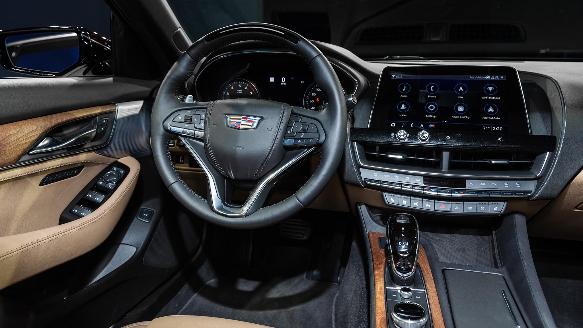 2020 Cadillac CT5: Stuff Cadillac Told Us About Its New Sport Sedan   CarsRadars