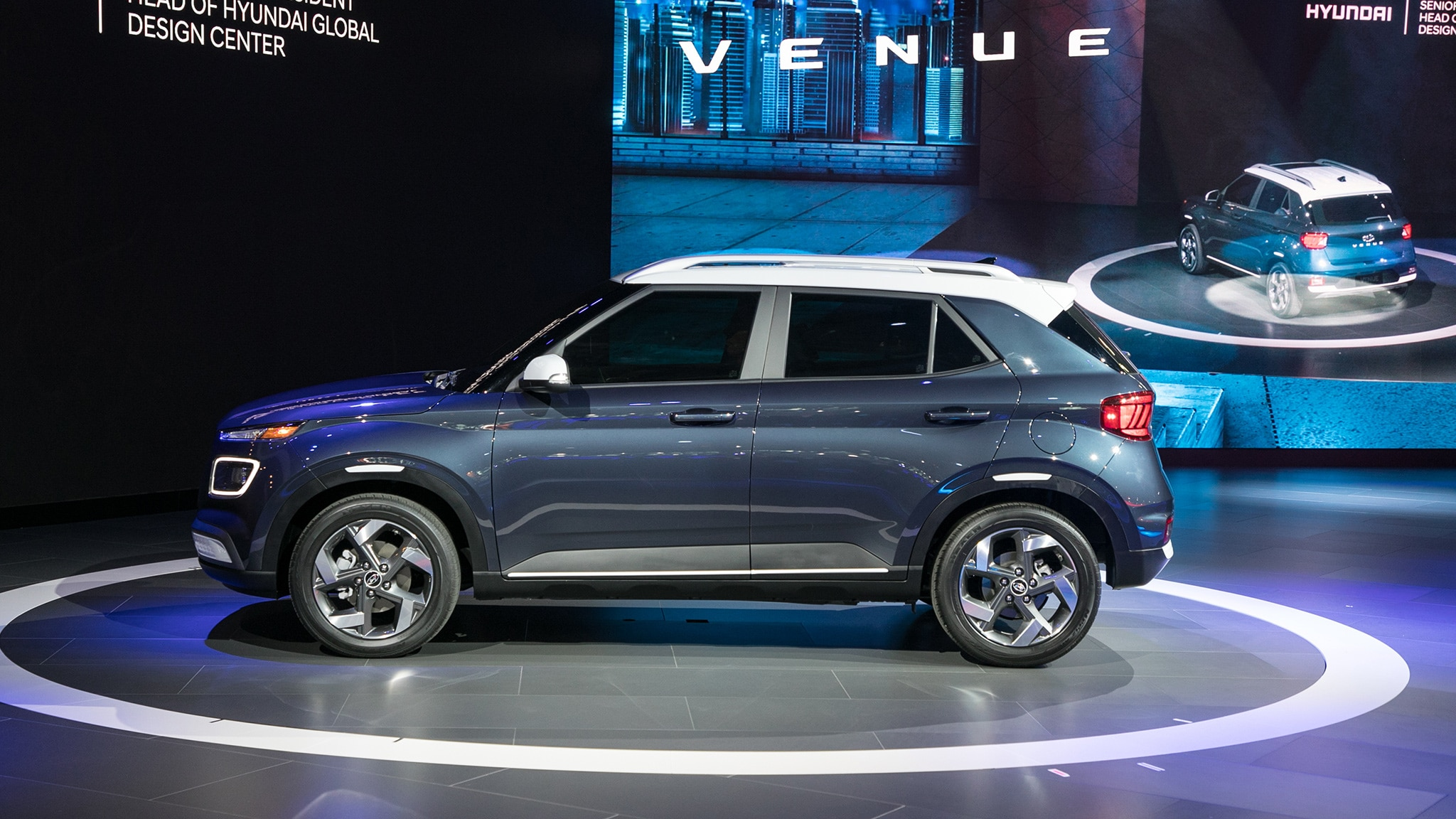 2020 Hyundai Venue A New Entry Level Crossover Suv Automobile