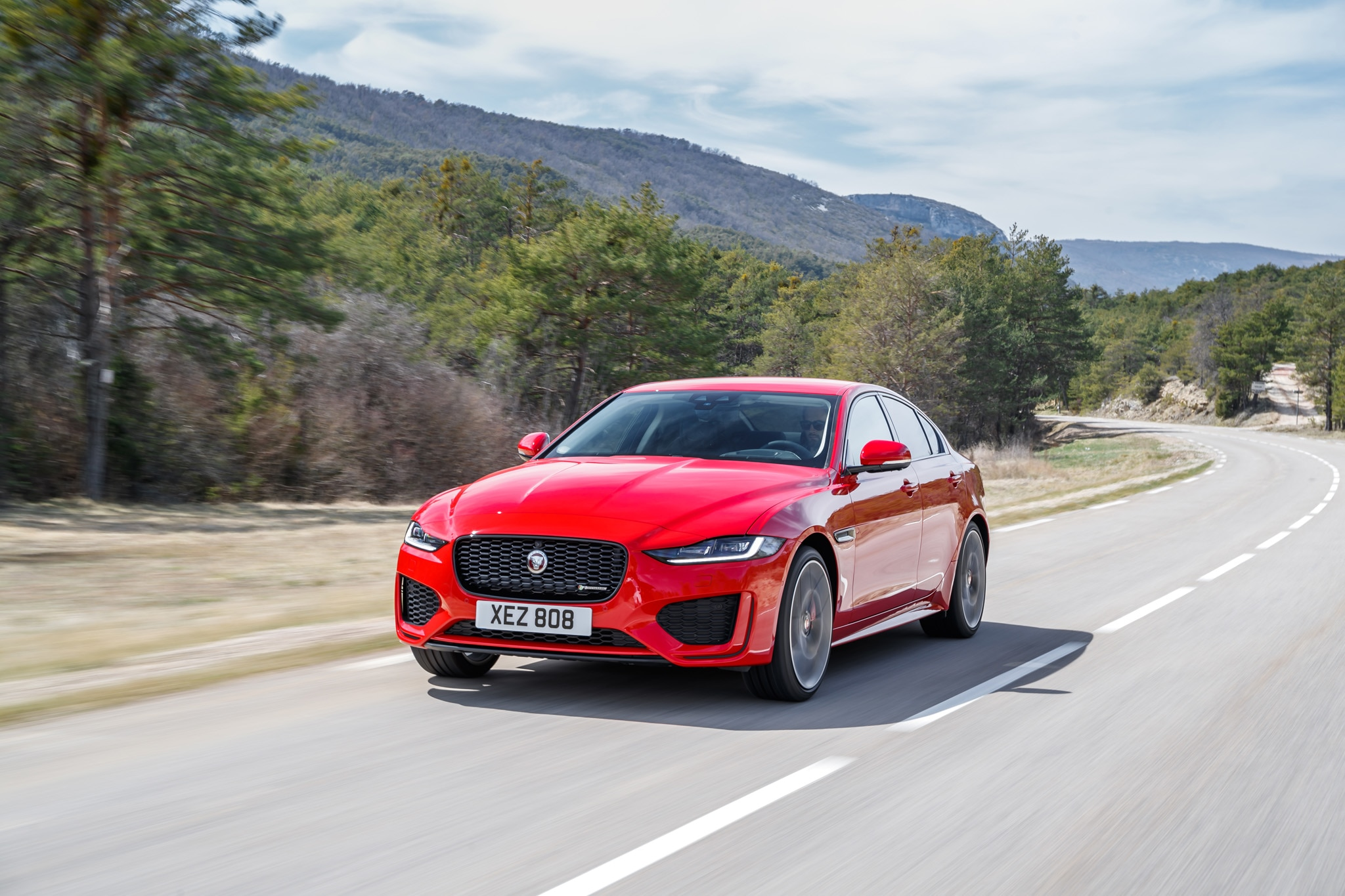 2020 Jaguar XE First Drive: Down Two Cylinders, Up One Interior | Automobile Magazine