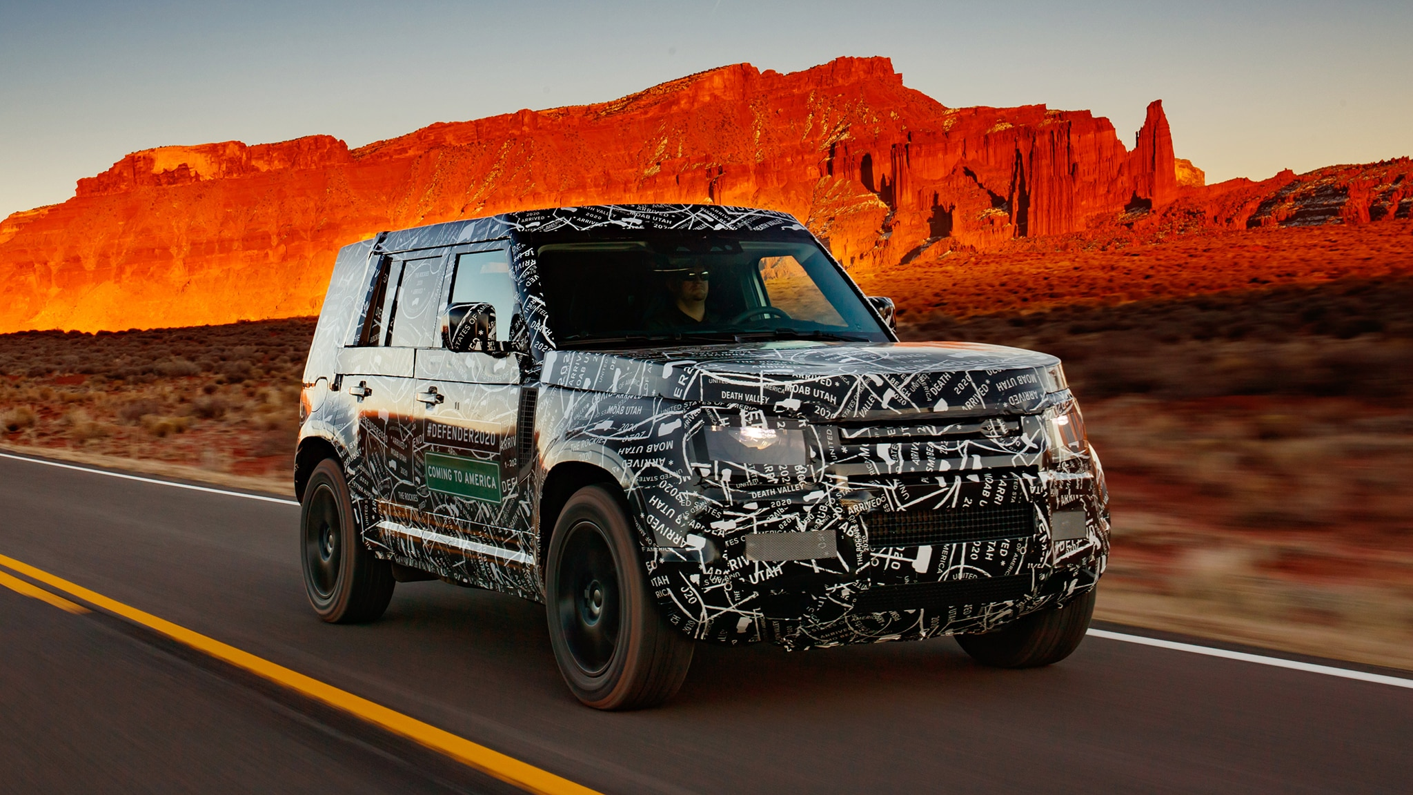 Hey, Look, It's The 2020 Land Rover Defender