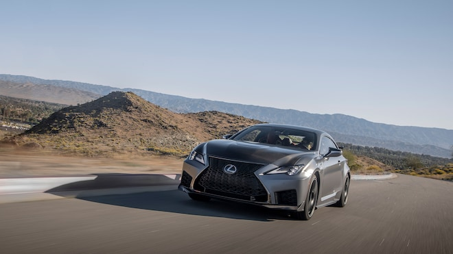 2020 Lexus Rc F Track Edition Review Great On The Road Too
