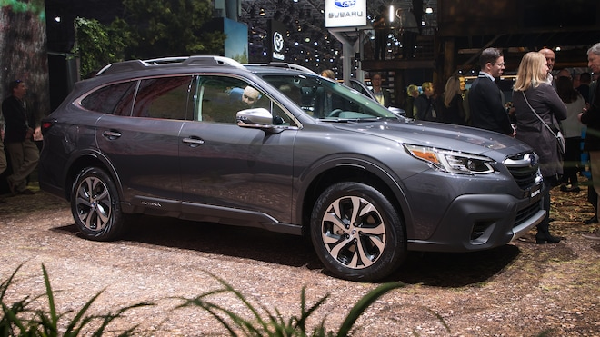 2020 Subaru Outback Front Side View Parked