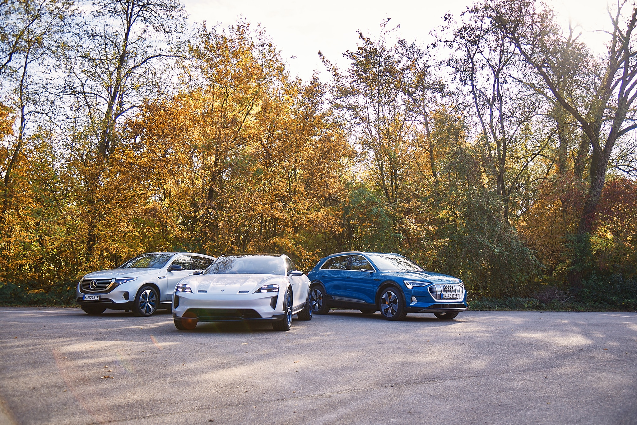 Electric Utility: Audi e-tron vs  Porsche Taycan vs
