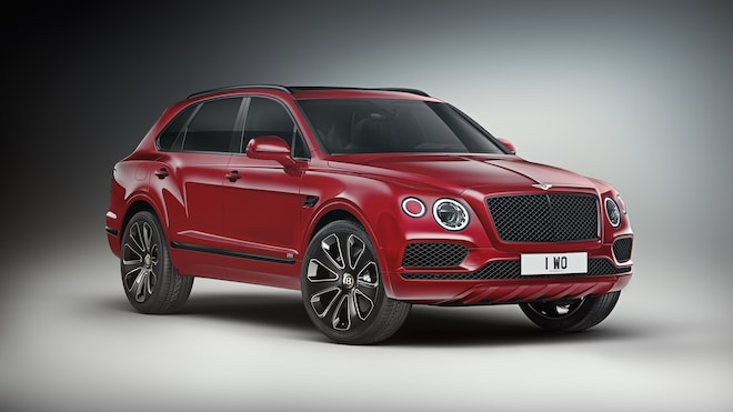 Bentayga Design Series Candy Red 4