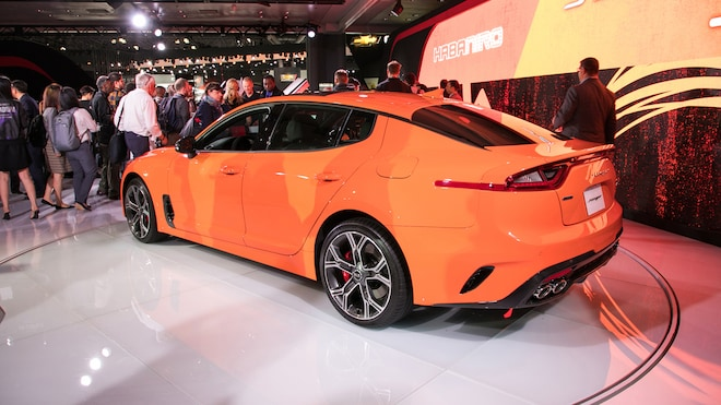 The Kia Stinger GTS Is More Driftalicious and Bargain-Priced