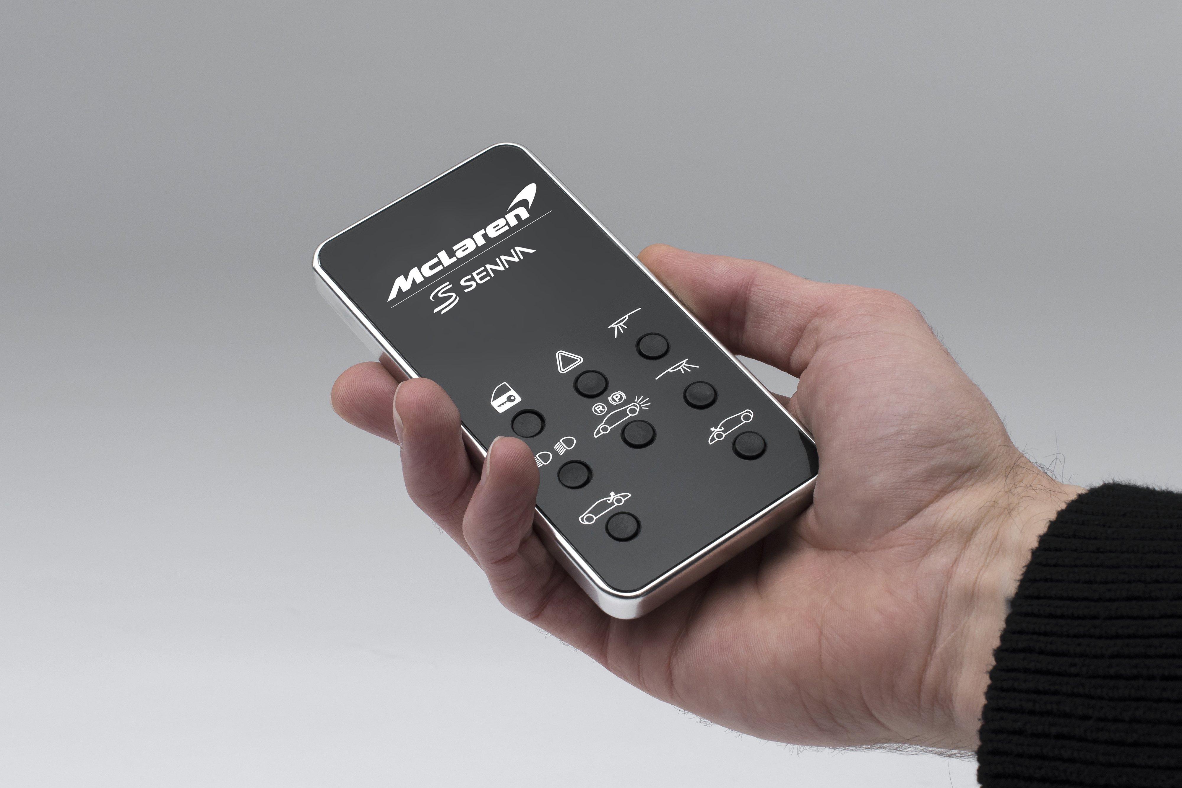 miniature mclaren senna sells for  13k  has remote lights and doors
