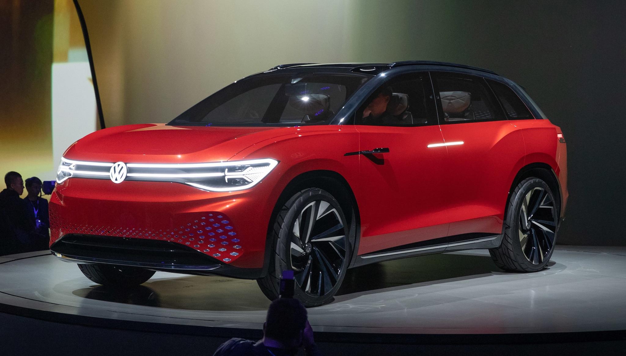 Volkswagen ID Roomzz EV SUV Concept 35