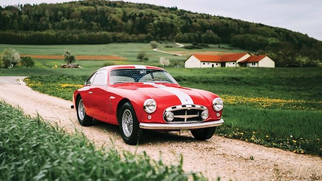 1955 Maserati A6G_2000 Berlinetta Zagato Front Three Quarter