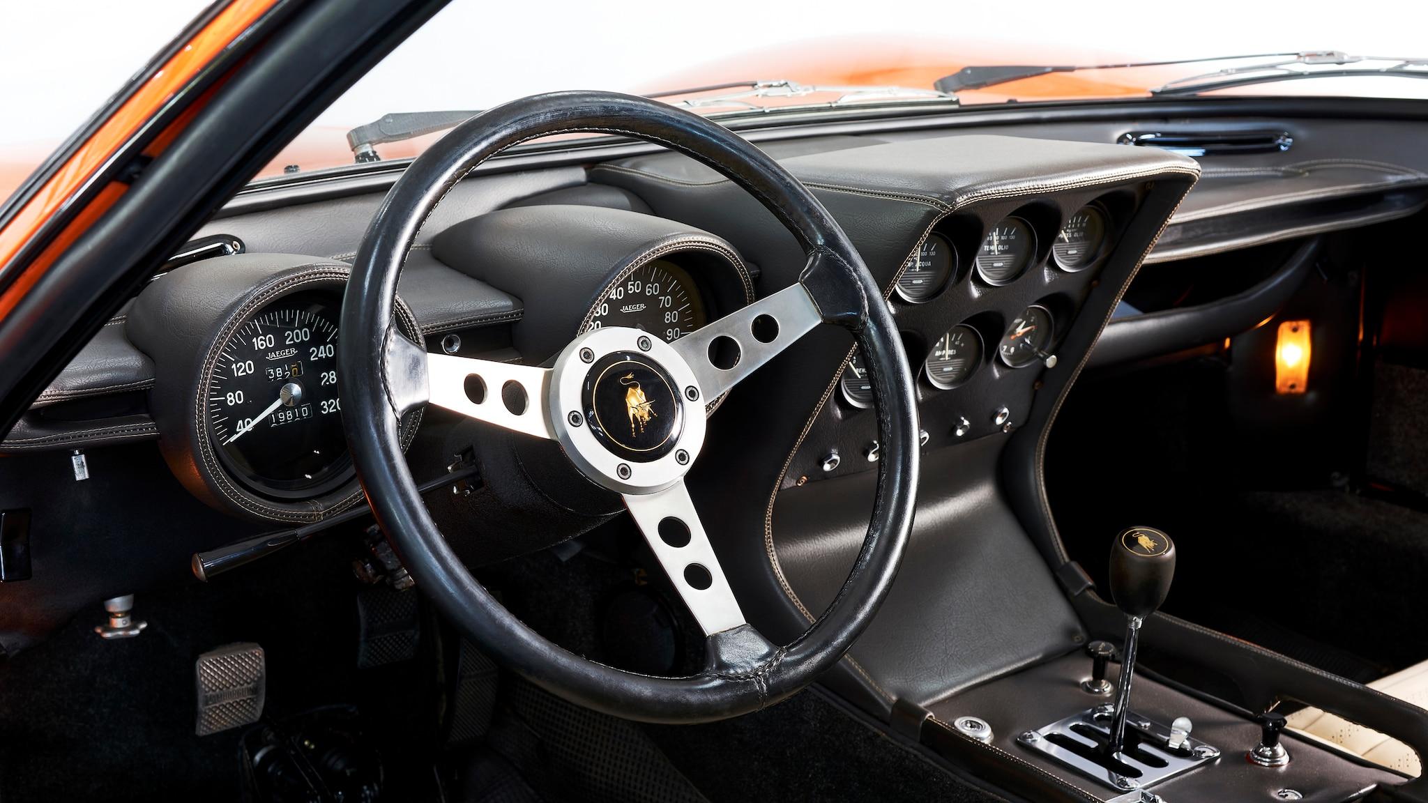 The Lamborghini Miura From The Italian Job Has Been Restored To