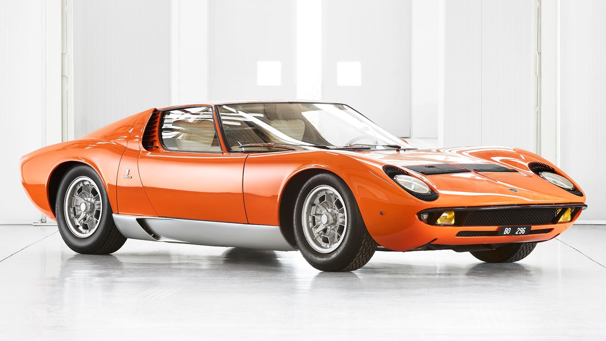 1969 Lamborghini Miura The Italian Job 9