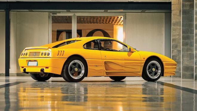 1990 Ferrari 348 TB Zagato Elaborazione_rear Three Quarter