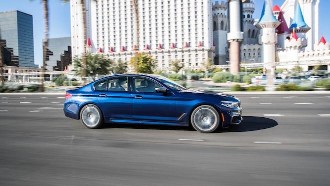 2018 BMW M550i XDrive Los Angeles To Vegas 62