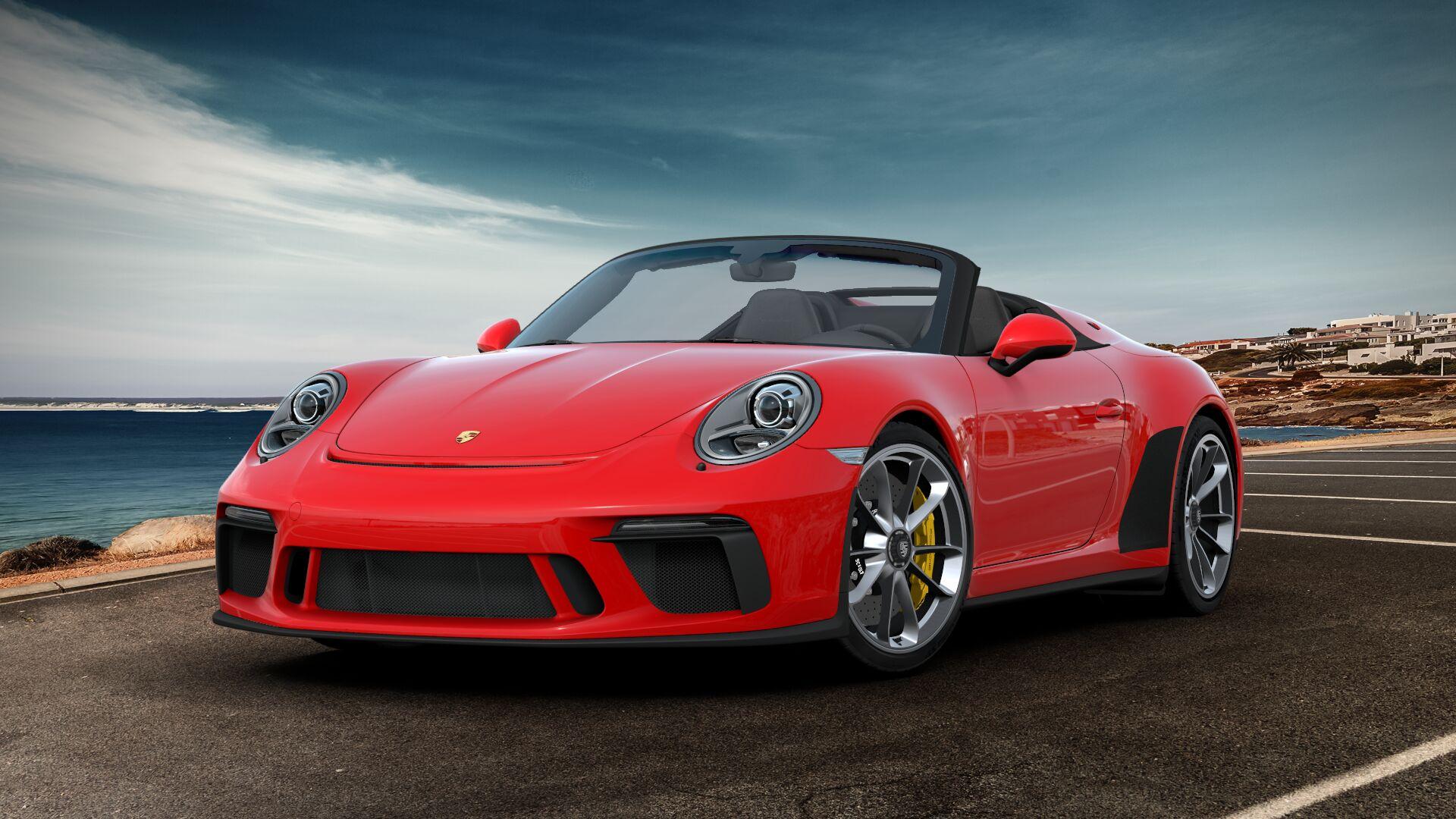 2019 Porsche 911 Speedster How Id Spec It 12