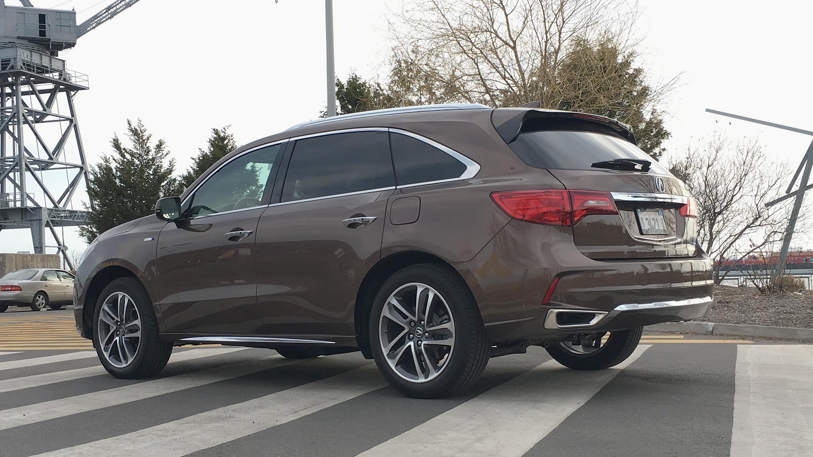 2019 Acura MDX Sport Hybrid Rear Three Quarter