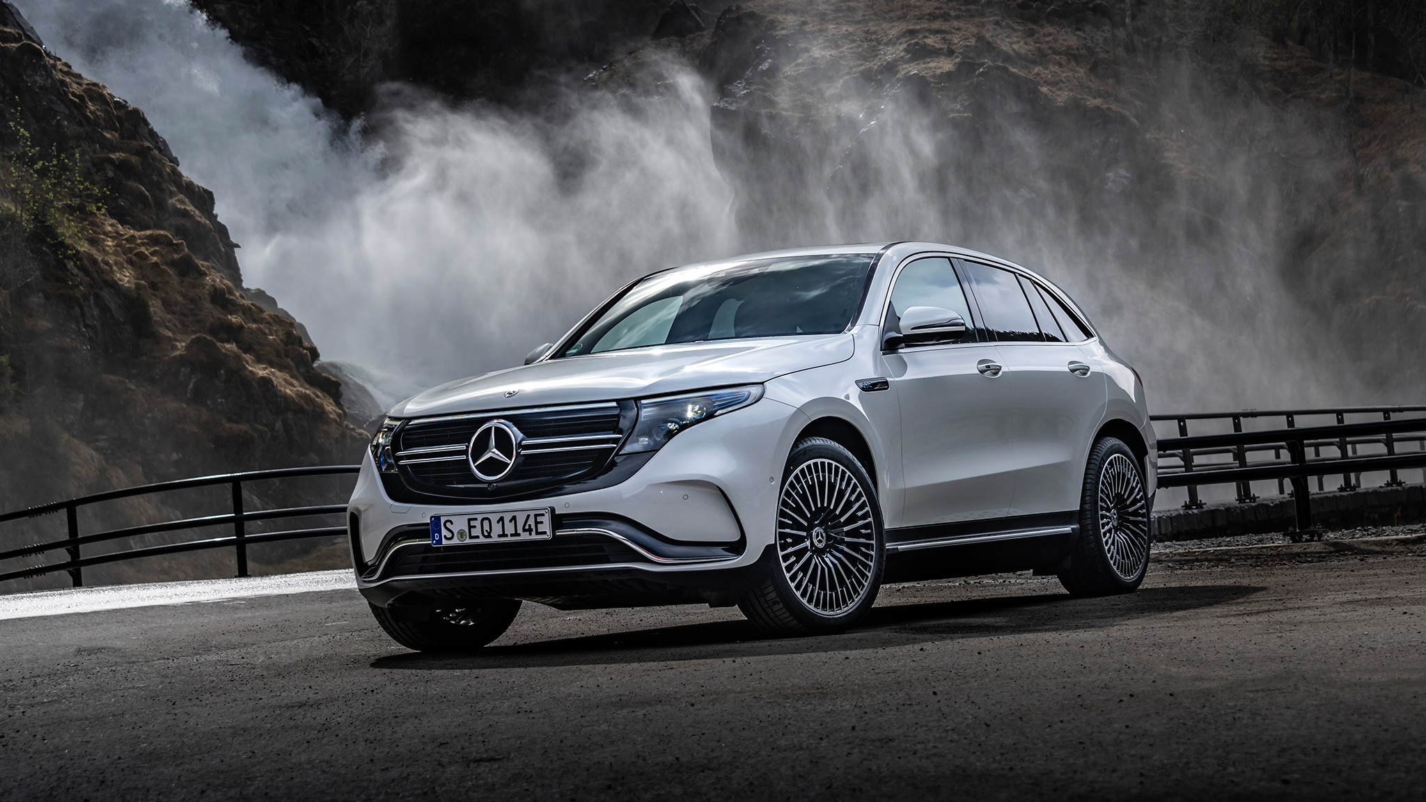 2020 Mercedes-Benz EQC EV First Drive Review: Accomplished ...
