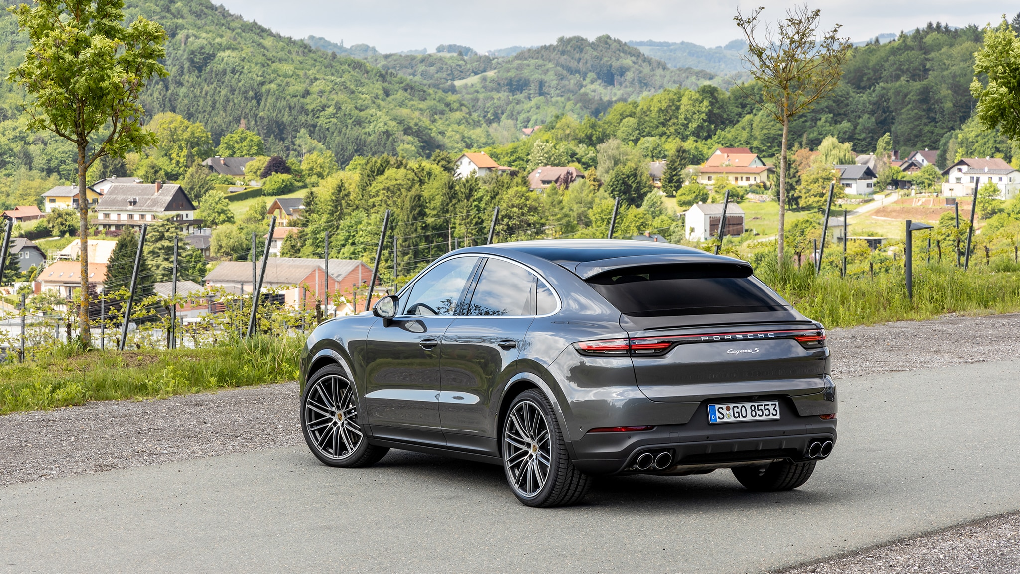 2020 Porsche Cayenne Coupe First Drive Review Hulked Up Hot