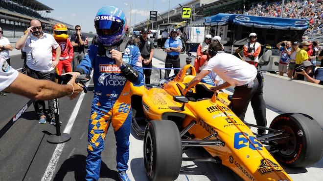 Fernando Alonso McLaren 2019 Indianapolis 500 2 1